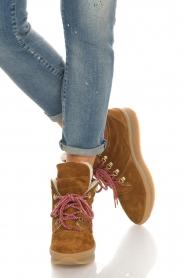 Toral |  Suède ankle boots Basket | camel  | Picture 3