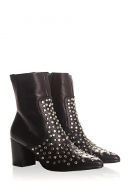 Toral | Leather boots Sandra | black  | Picture 4