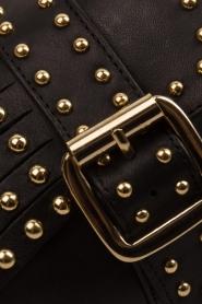 Toral | Leren loafers met studs Kelly | zwart  | Afbeelding 8