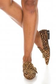 Toral | Loafers met studs Kelly | dierenprint  | Afbeelding 3