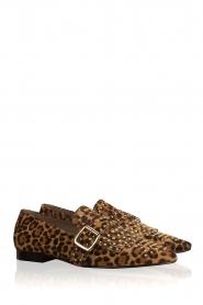 Toral | Loafers met studs Kelly | dierenprint  | Afbeelding 4