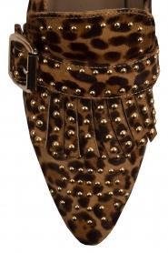 Toral | Loafers met studs Kelly | dierenprint  | Afbeelding 7