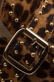 Toral | Loafers met studs Kelly | dierenprint  | Afbeelding 8