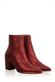 Toral |  Leather ankle boots Dameira | red  | Picture 3