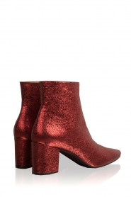 Toral |  Leather ankle boots Dameira | red  | Picture 4
