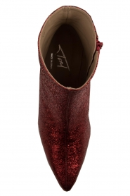 Toral |  Leather ankle boots Dameira | red  | Picture 5