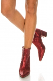 Toral |  Leather ankle boots Dameira | red  | Picture 2
