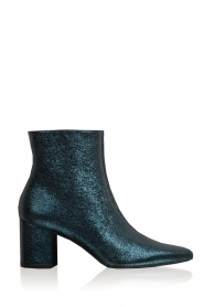 Toral |  Leather ankle boots Dameira | blue  | Picture 1