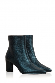 Toral |  Leather ankle boots Dameira | blue  | Picture 3