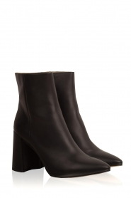 Toral |  Leather ankle boots Erin | blauw  | Picture 4