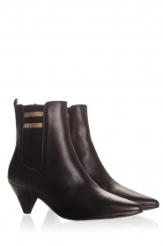 Toral |  Leather ankle boots Lola | black  | Picture 4