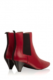 Toral |  Leather ankle boots Tibet | red  | Picture 5