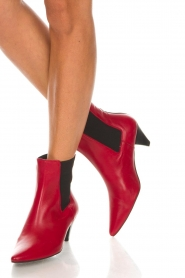 Toral |  Leather ankle boots Tibet | red  | Picture 3
