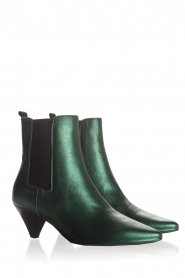 Toral |  Leather ankle boots Eclat | green  | Picture 4