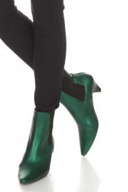 Toral |  Leather ankle boots Eclat | green  | Picture 3