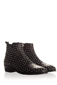 Toral |  Leather ankle boots Camilla | black  | Picture 4