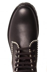 SVNTY |  Leather biker boots Nadia | black  | Picture 6
