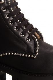 SVNTY |  Leather biker boots Nadia | black  | Picture 7