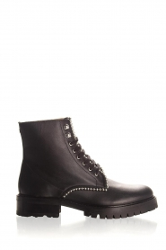 SVNTY |  Leather biker boots Nadia | black  | Picture 1