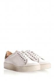 SVNTY | Leren sneakers Praia | wit  | Afbeelding 5