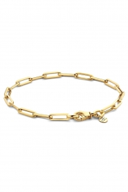 Just Franky |  14k gold chain bracelet Charm Petite | gold  | Picture 1