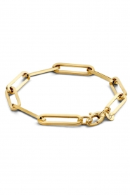 Just Franky |  14k gold chain bracelet Charm | gold  | Picture 1
