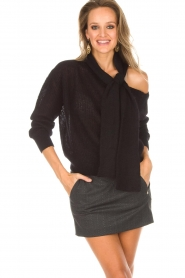 Essentiel Antwerp |  Sweater Rouaniemi | black  | Picture 2
