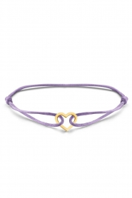 Just Franky    Iconic Heart Cord bracelet   multi    Picture 1