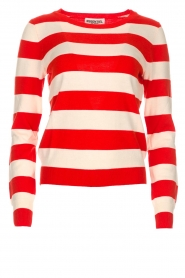 Striped sweater Ricard | red