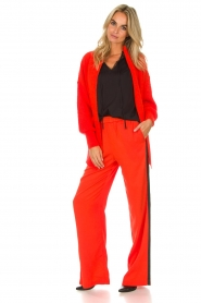 Essentiel Antwerp |  Pants Rimons | red  | Picture 2