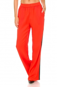 Essentiel Antwerp |  Pants Rimons | red  | Picture 3