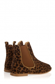 Maluo |  Leather ankle boots Cato | animal print  | Picture 5