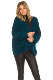 Aaiko |  Cardigan Dylene | blue  | Picture 2