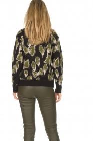 Aaiko |  Sweater Leonna | black  | Picture 5