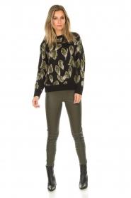 Aaiko |  Sweater Leonna | black  | Picture 3