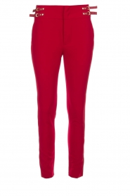 Aaiko |  Trousers Tayas | red  | Picture 1