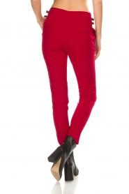 Aaiko |  Trousers Tayas | red  | Picture 5