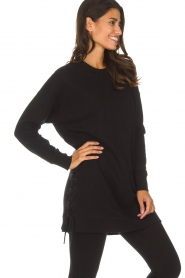 DKNY Sport |  Long sports top Olivia | black  | Picture 5