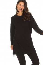 DKNY Sport |  Long sports top Olivia | black  | Picture 4