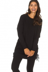 DKNY Sport |  Long sports top Olivia | black  | Picture 2