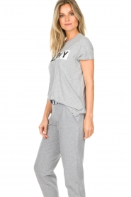 DKNY Sport |  Sports top with logo print Lawa | grey  | Picture 3