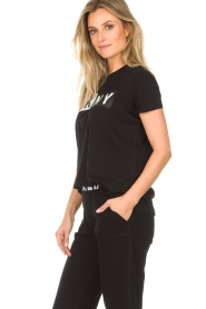 DKNY Sport |  Sports top with logo print Lawa | black  | Picture 4