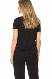 DKNY Sport |  Sports top with logo print Lawa | black  | Picture 5