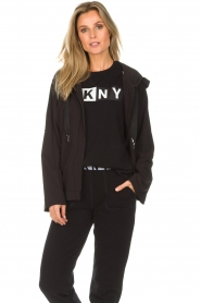 DKNY Sport |  Sports jacket Space | black  | Picture 2
