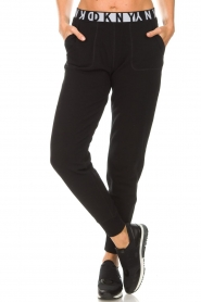 DKNY Sport |  Sweatpants with logo Stevie | black  | Picture 2