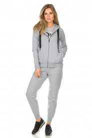 DKNY Sport |  Sweatpants with logo Stevie | grey  | Picture 2