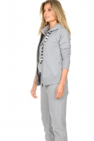 DKNY Sport |  Sports cardigan with logo on the back Kyra | grey  | Picture 4