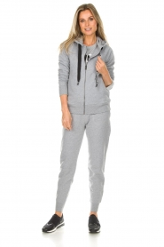 DKNY Sport |  Sports cardigan with logo on the back Kyra | grey  | Picture 3
