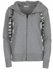 DKNY Sport |  Sports cardigan with logo on the back Kyra | grey  | Picture 1