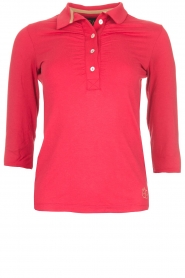 Golf polo Bien Long | red